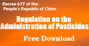 China pesticide regulation